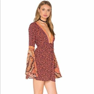 Free People once upon a summertime romper S